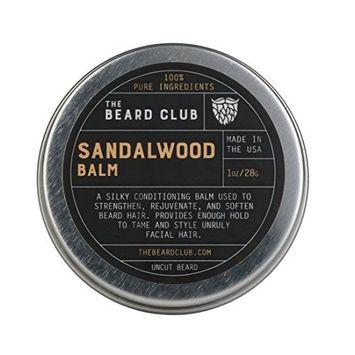 Sandalwood Beard Balm | The Beard Club | #1 Selling Beard Products in America