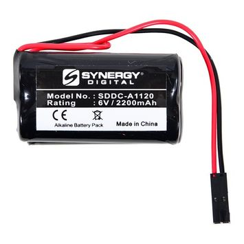 Saflok 6800121 Battery Replacement - (Alkaline, 6V, 2200 mAh) Ultra High Capacity Battery