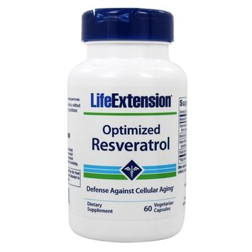 Optimized Resveratrol 250 mg. - 60 Vegetarian Capsules