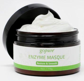 goPure Restorative Enzyme Mask with Active Fruit Enzymes, Glycolic Acid and Gotu Kola