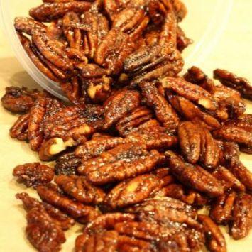 Spanish Caramelized Pecans 8 ounces