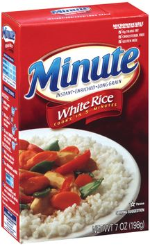 minute® instant enriched long grain white rice