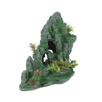 R-Zilla Granite Cave With Foliage Large