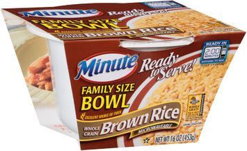 Minute® Ready to Serve Family Size Bowl Whole Grain Brown Rice