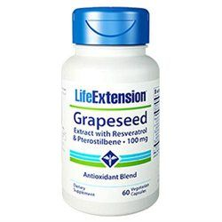 Life Extension Grapeseed Extract with Resveratrol & Pterostilbene