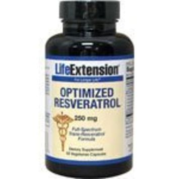 Life Extension Optimized Resveratrol, 250 mg 60 vegetarian capsules