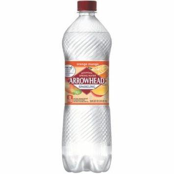 Arrowhead Orange Mango Sparkling Water, 33.8 Fl Oz, 12 Ct