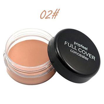 Concealer Cream, Exteren Face Makeup Concealer Foundation Palette Creamy Moisturizing 20g
