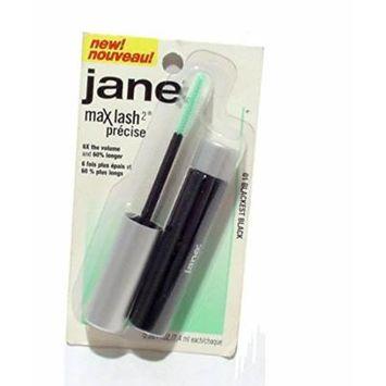 Jane MaxLash2 Waterproof Mascara, Blackest Black, .17 fl oz