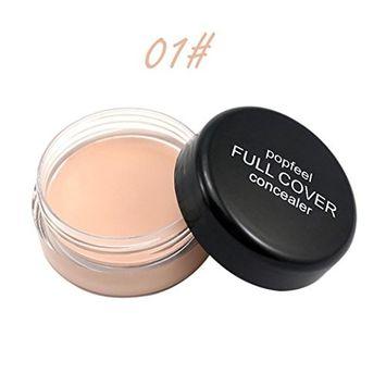 Concealer Cream, Exteren Face Makeup Concealer Foundation Palette Creamy Moisturizing 20g [C]