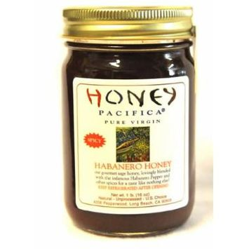 Habanero Honey by Honey Pacifica - Spicy Honey for BBQ, Marinades, or Dipping Sauce