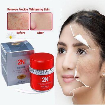 Skin Lightening Whitening Cream Spot Freckle Fade Removal Cream for Face Brightening Reducing Various Age Dark Spots Freckles Melasma +Fading Melanin [Freckle removal cream]