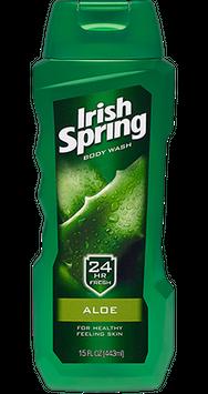 Irish Spring Aloe Body Wash