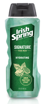 Irish Spring Signature for Men Hydrating Body Wash with Shea Butter Extract