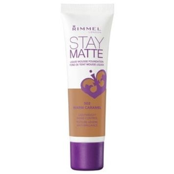 Stay Matte Liquid Mousse Foundation in Warm Caramel