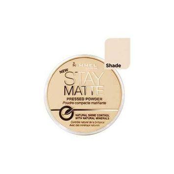 Rimmel Stay Matte Natural Shine Control Pressed Powder Silky Beige by Rimmel