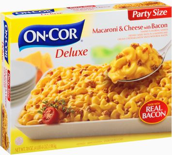 On-Cor Deluxe Macaroni & Cheese with Bacon Party Size