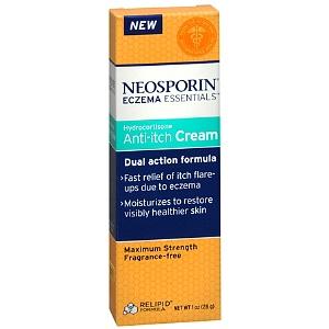 Neosporin Eczema Essentials Hydrocortisone Anti-Itch Cream