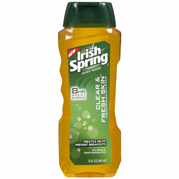 Irish Spring Clear and Fresh Skin Body Wash