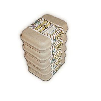 Vanilla Honey and Brown Sugar Natural Soap Set of 5 Value Pack