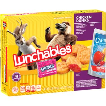 Lunchables Lunch Combinations Chicken Dunks, 9.8 oz Box