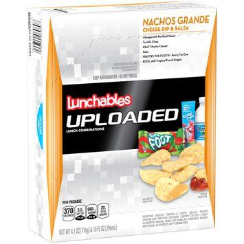 Lunchables Uploaded Nachos Grande Cheese Dip & Salsa, 14.1 oz Box