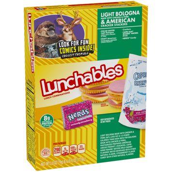 Lunchables Bologna & American 8.8 oz Box