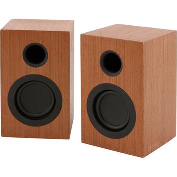 Altaz Inc AZWS100 Micro-Fi mini stereo speaker Brown