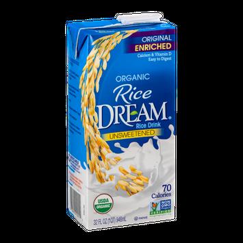Rice Dream Rice Drink Unsweetened Organic