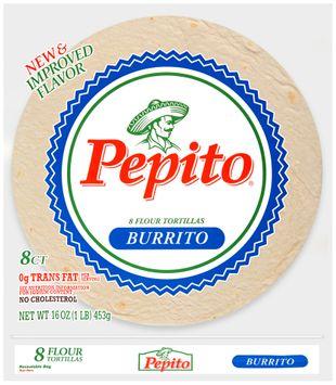 pepito® burrito flour tortillas