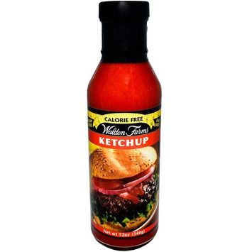 Walden Farms, Calorie Free Ketchup, 12 oz(Pack of 2)