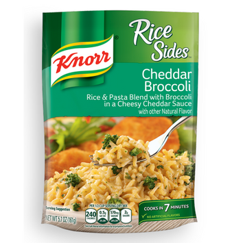 Knorr® Rice Sides Cheddar Broccoli Rice