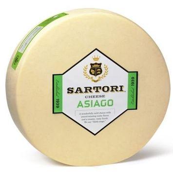 Sartori Classic Shredded Asiago Cheese Wheel, 20 Pound -- 1 each.
