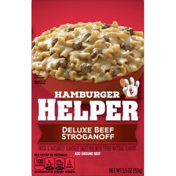 Hamburger Helper Deluxe Beef Stroganoff, 5.5 oz