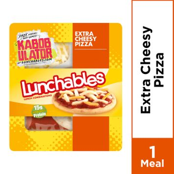 Lunchables Extra Cheesy Pizza, 4.2 oz Package