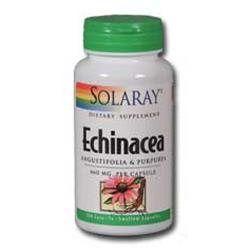 Solaray Echinacea Purpurea Angustifolia - 460 mg - 180 Capsules