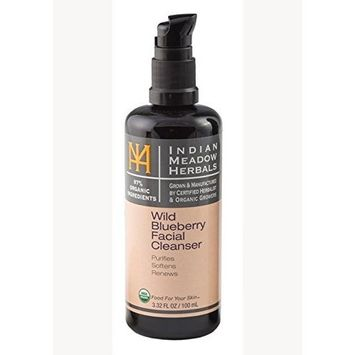 Indian Meadow Herbals, Facial Cleanser Blueberry, 3.38 Fl Oz