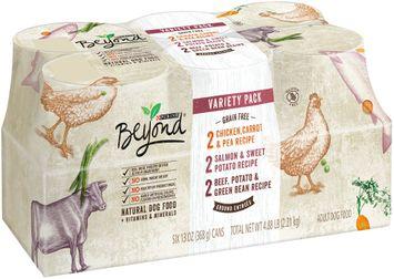 Purina Beyond Grain Free Ground Entrees Variety Pack Dog Food