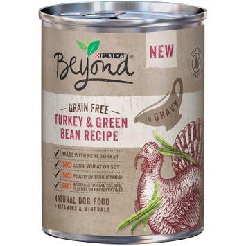 Purina Beyond Grain Free Turkey & Green Bean Recipe in Gravy Natural Dog Food