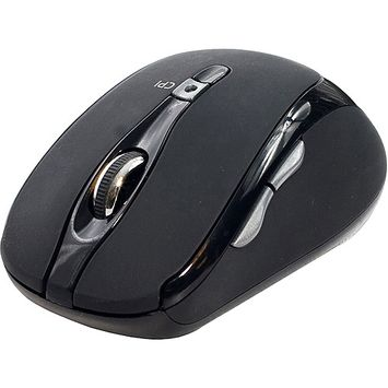 SYBA Multimedia Connectland CL-MOU23014 Mouse - Optical Wireless - Black - Retail