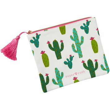 Sugar Rush - Cactus Makeup Bag