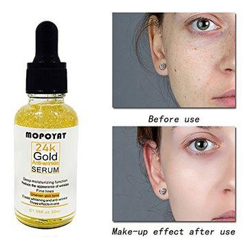 KingWo Face Skin Essence Serum Hyaluronic Acid Lift Anti Aging Anti-redness Whitening Moisturizing Oil 30 mL