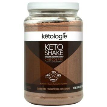 Ketologie Keto Shake - CHOCOLATE (2.78 Pound Powder) by Ketologie at the Vitamin Shoppe