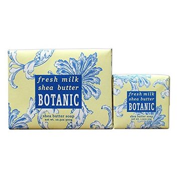 Bundle of 2 Greenwich Bay Trading Co. Soaps - 10.5oz Bar and Matching 1.9oz Mini Soap (Ocean Riche)