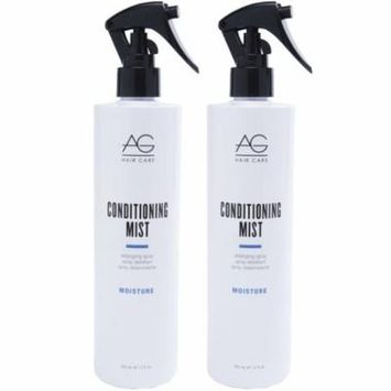 AG Hair Conditioning Mist Detangling Spray 12 oz - Pack of 2