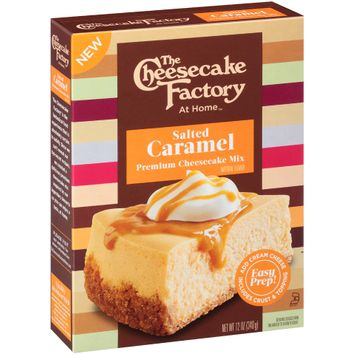 The Cheese Cake Factory At Home™ Salted Caramel Premium Cheesecake Mix