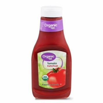 Great Value Organic Tomato Ketchup, 38 oz