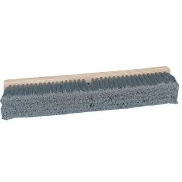 Pro Line Brushes - Gray Flagged Polypropylene Floor Brushes Push Broom Gray Flagg D24: 733-20424 - push broom gray flagg d24