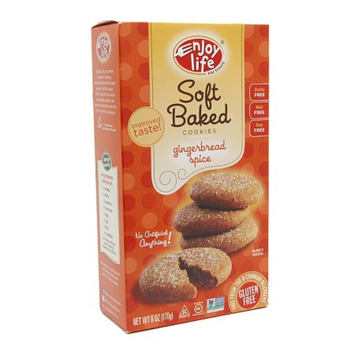 Enjoy Life Soft-Baked Cookies Gingerbread Spice