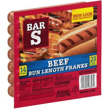 Bar-S® Beef Bun Length Franks